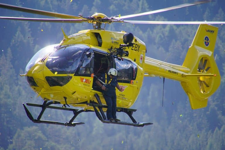 helicopter, civil protection, pelikan