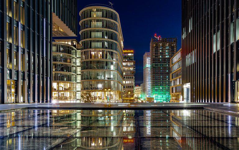düsseldorf, media harbour, architecture
